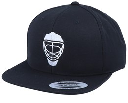 Hockey Mask Modern Black Snapback - Forza