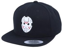 Hockey Mask Jason Black Snapback - Forza