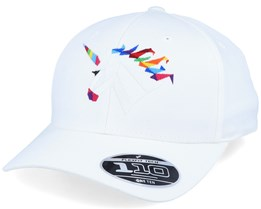 Rainbow Paper Unicorn White 110 Adjustable - Origami