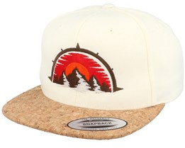 Mountain Compass Natural/Cork Snapback - Wild Spirit