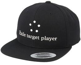 Exile Target Player Black Snapback - Gamerz