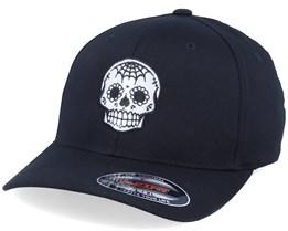 Spade Nose Skull Black Flexfit - Calaveras