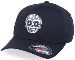 Gold Tooth Skull Black Flexfit - Calaveras