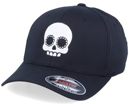 Cute Skull Black Flexfit - Calaveras