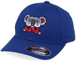 Kids Koala Bear Boxer Royal Blue - Kiddo Cap