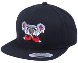 Koala Bear Boxer Black Snapback - Iconic