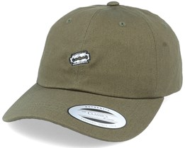Tiny Razor Blade Olive Dad Cap - Iconic