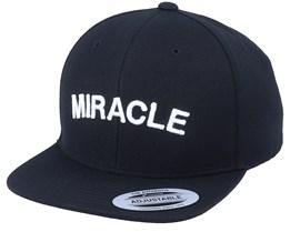 Kids Miracle 3D Black Snapback - Kiddo Cap