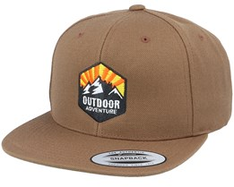 Outdoor Adventure Tan Snapback - Wild Spirit