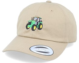 Tractor Dad Cap Khaki Adjustable - Iconic