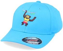 Kids Climbing Monkey Hawaii Ocean Flexfit - Kiddo Cap