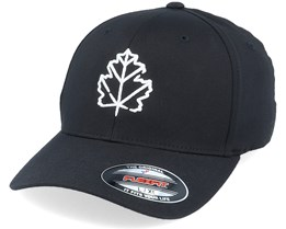 3D Maple Leaf Black Flexfit - Wild Spirit