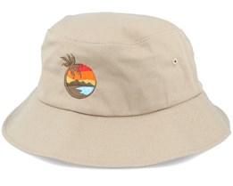 Aloha Sunset Khaki Bucket - Iconic