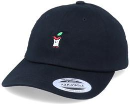 Eaten Apple Black Dad Cap - Iconic