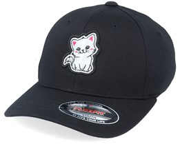 Kids 3D Frame Kitten Black Flexfit - Kiddo Cap
