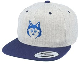 Husky Heather Grey/Navy Snapback - Wild Spirit