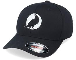 Moon Crow Silhouette Black Flexfit - Wild Spirit