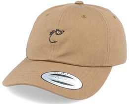 Fish Hook Brown Dad Cap - Hunter