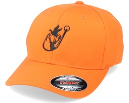 Fisher Logo Orange Flexfit - Hunter