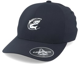 Oval Fishing Logo Black Delta Flexfit - Hunter