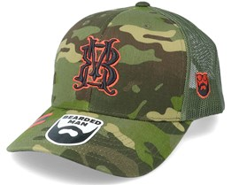 Monogram Multicam Tropic Camo Trucker - Bearded Man