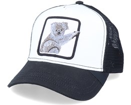 Koala Patch White/Black Trucker - Iconic