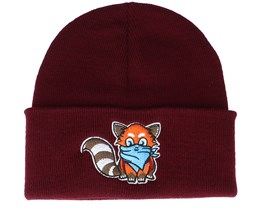 Hatsie The Red Panda Maroon Cuff - Iconic