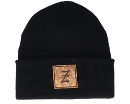 Z Letter Patch Black Cuff - Iconic