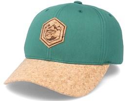 Mountain Badge Fish Patch Spruce/Cork Adjustable - Hunter