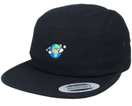 Planet Earth Black 5-Panel - Iconic