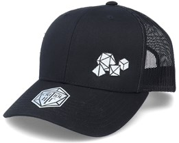 Polyhedral Dice Set Black Trucker - Critiql Hit
