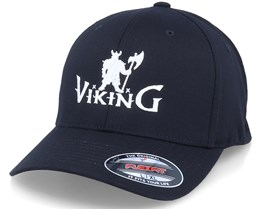 Viking Warrior Logo Black Flexfit - Vikings