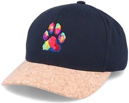 Dog Paw Colors Black/Cork Adjustable - Iconic