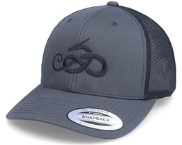 Jormungandr 2-Tone Charcoal/Black Trucker - Vikings