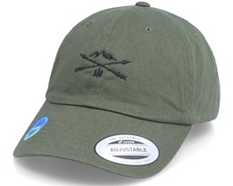 Ecowash Nature Arrow Cross Olive Dad Cap - Wild Spirit