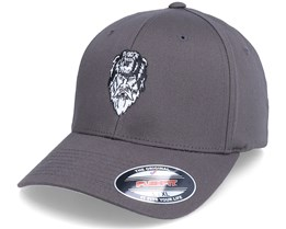 Bear Zerk Viking Shaman Dark Grey Flexfit - Vikings