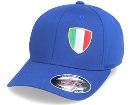 Kids Italy Flag Shield Blue Flexfit - Forza