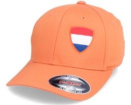 Kids Netherlands Flag Shield Orange Flexfit - Forza